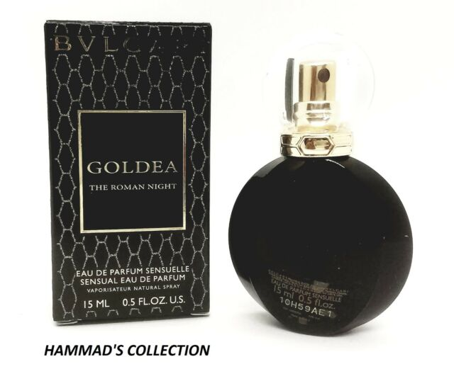 f6a08345117 BVLGARI GOLDEA THE ROMAN NIGHT EDP 0.5 OZ   15 ML FOR WOMEN MINI SPRAY (