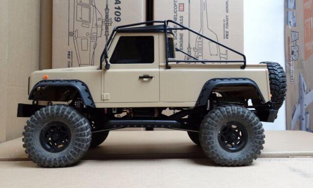 313 mm 1 10 defender d90 pick up truck body metal roll cage safari