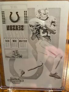 2018-Contenders-Optic-Printing-Plate-TY-T-Y-Hilton-1-1-COLTS