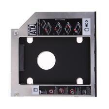 9.5mm Universal SATA 2nd SSD HDD Hard Drive Caddy for CD/DVD-ROM Optical Bay