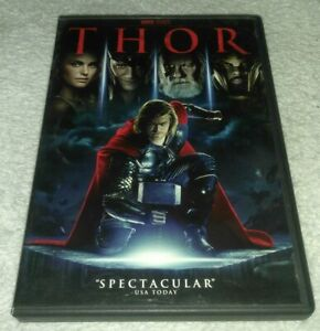 Thor 2011 Dvd Chris Hemsworth Natalie Portman 97361439648 Ebay