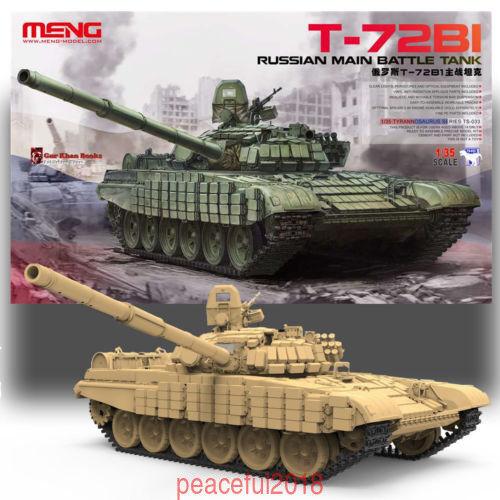 Meng TS-033 Model 1//35 Russina Main Battle Tank T-72B1 Brand New AAA