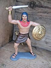 1963 Louis Marx Egyptian Warrior Collectible Decorative Display Plastic