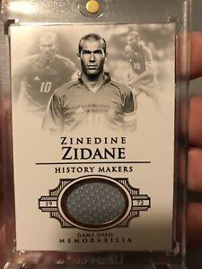 Zinedine Zidane Game Used Jersey Patch #32/34 France Real Madrid Soccer Fútbol