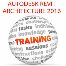 Autodesk REVIT ARCHITECTURE 2016 (metric) - Video Training Tutorial DVD