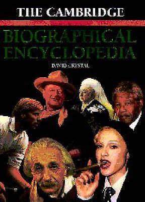 1 of 1 - The Cambridge Biographical Encyclopedia,Crystal, David,Good Book mon0000101126