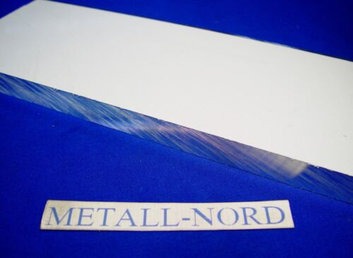AW-5083 AlMg4,5Mn 500x100x15mm präziser Aluminium ZUSCHNITT plangefräst Aluminum