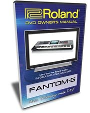 Roland Fantom-G DVD Video Training Tutorial G6 G7 G8