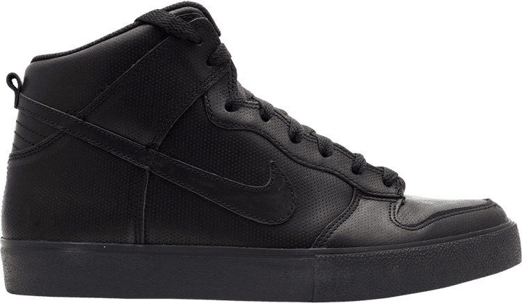 NIKE Dunk High AC Neu Schwarz Black Gr:40,5 Force Vandal Sneaker Leather Dunk