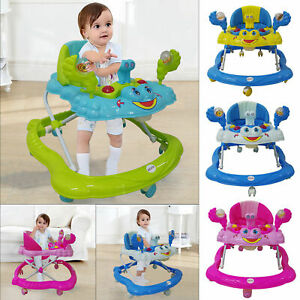 Baby-Walker-First-Steps-Activity-Bouncer-Musical-Toys-Car-Push-Along-Ride-On-Go