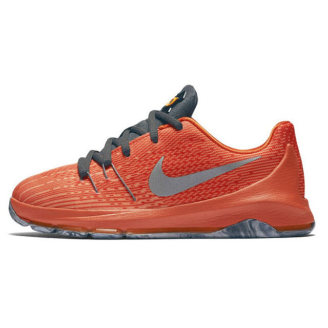 size 40 62f6a b1622 Nike KD Kevin Durant 8 (GS) Total Orange Reflect Silver Bright Orange  768867 808