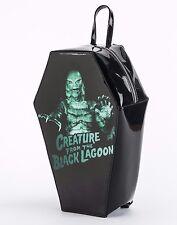 Rock Rebel GG Rose Creature from the Black Lagoon Coffin Backpack Handbag Purse