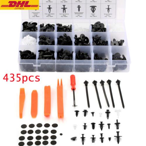 435x Auto Niete Clip Sortiment Stift Pin Rivet Trim für PKW KFZ Werkstattbedarf