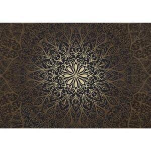 Fototapeten Tapete Fototapete Vlies Mandala Wandbilder XXL  3D Effekt Wohnzimmer