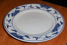 Tatung China Taiwan Celine Pattern Small Dessert Plate Blue & White