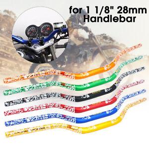 28mm-1-1-8-039-039-CNC-Motorcycle-Handlebar-Dirt-Pit-Bike-ATV-Quad-Motocross-Enduro