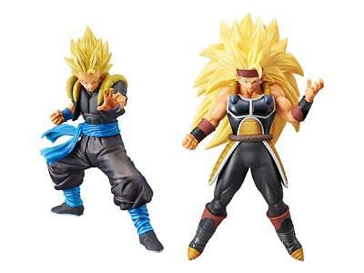 Banpresto Super Dragon Ball Heroes DXF Figure Vol.3 Bardock Xeno sets Japan NEW