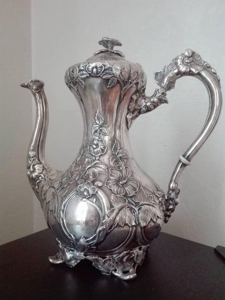 Kaffekande, Sølvplet, 130 år gl.