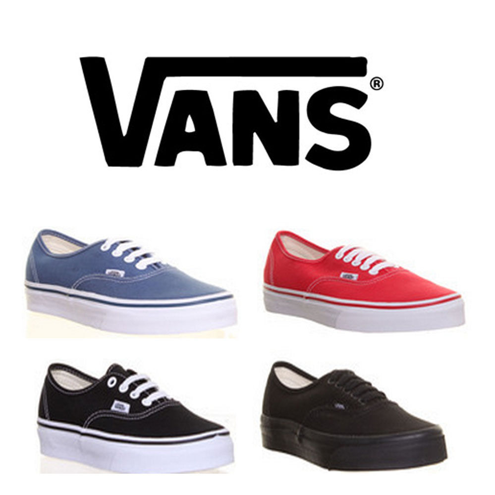 Genuine Vans Authentic Scarpe da ginnastica da donna in pelle scamosciata