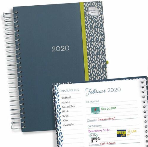 Kalender 2020 für ein beschäftigtes Leben. Press Lebensplaner 2020