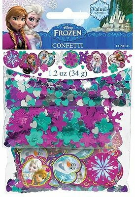 Disney Frozen Confetti Birthday Party Supplies Decorations Anna Elsa Olaf Favors