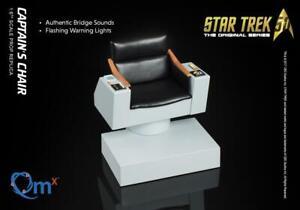 Quantum-Mechanix-Star-Trek-The-Original-Series-Captain-039-s-Chair-IN-STOCK