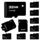 2GB 4GB 8GB 16GB Micro Mini SD Card TF Flash Memory MicroSD MicroSDHC Class 10