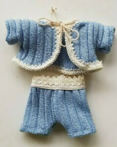 Sweet-Jacket-Knitted-Look-half-Pants-For-5-1-8-5-7-8in-Small-Bears