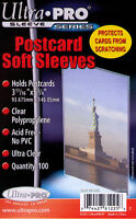 5,000 5000 Ultra Pro Premium Postcard Sleeves 3 11/16 X 5 3/4 Wholesale Lot