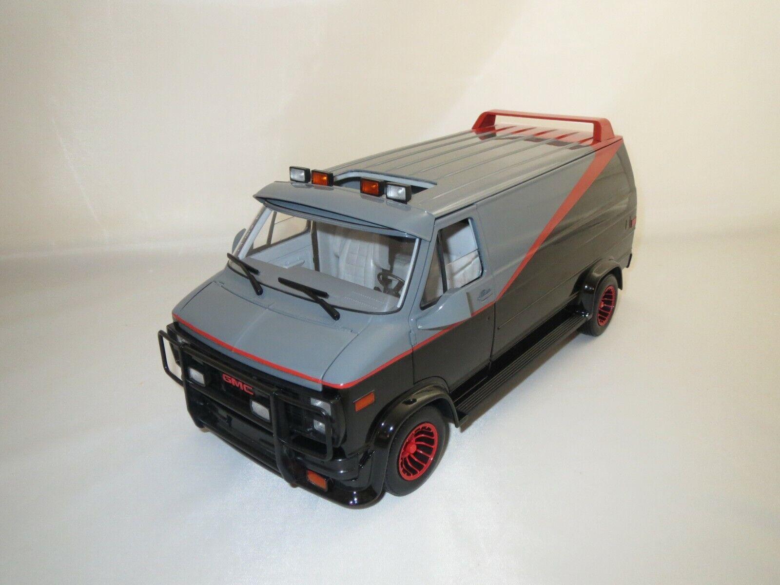Hot Wheels Mattel x5531 GMC Panel Van (A-TEAM) 1 18 neuf dans sa boîte