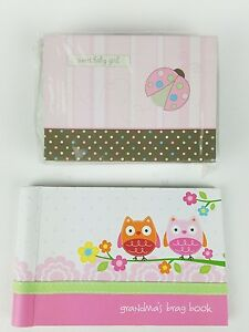 Lot of 2 LadyBug 10 Blank Note Cards, Envelopes & NoJo 24 photo Album Love Birds