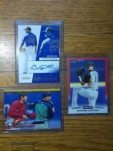 2-2018-Shohei-Ohtani-RC-Topps-amp-Leaf-amp-ABSOLUTE-YENCY-ALMONTE-ROOKIE-AUTO