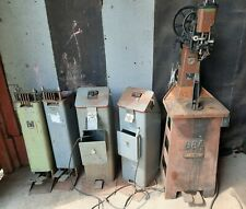 Landis No88 A Stictching Machine Nibbler Amp Popper Lot Shoe Repair See Videos