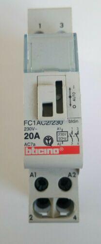 CONTATTORE BTICINO FC1AC2//230 1NO+1NC