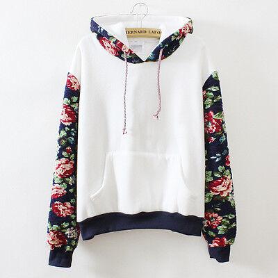 Smaller Women Pullover Hoodie Jacket Coat Outerwear Hooded Sweatshirt Blouse Top