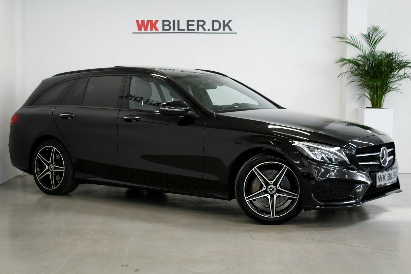 Mercedes C250 d 2,2 AMG Line stc. aut. 5d