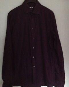 Black-Next-15-inch-38-cm-shirt-slim-fit-cotton