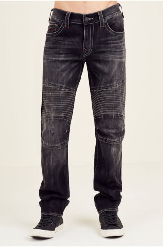 3e08a525 1 of 4FREE Shipping True Religion Men's Skinny Moto Jeans in Nightmare Wish