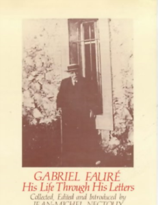 Nectoux, Jean-Michel-Gabriel Faure: His Life Through His Letters BOOKH NUEVO
