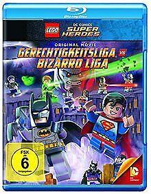 Lego-Gerechtigkeitsliga-vs-Bizarro-Liga-Blu-ray-von-DVD-Zustand-gut