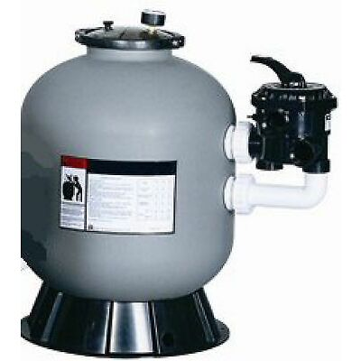 """swimming pool/pond 24"""" sand filter with SIDE mount 7 Position Multi-Port 11m3"""