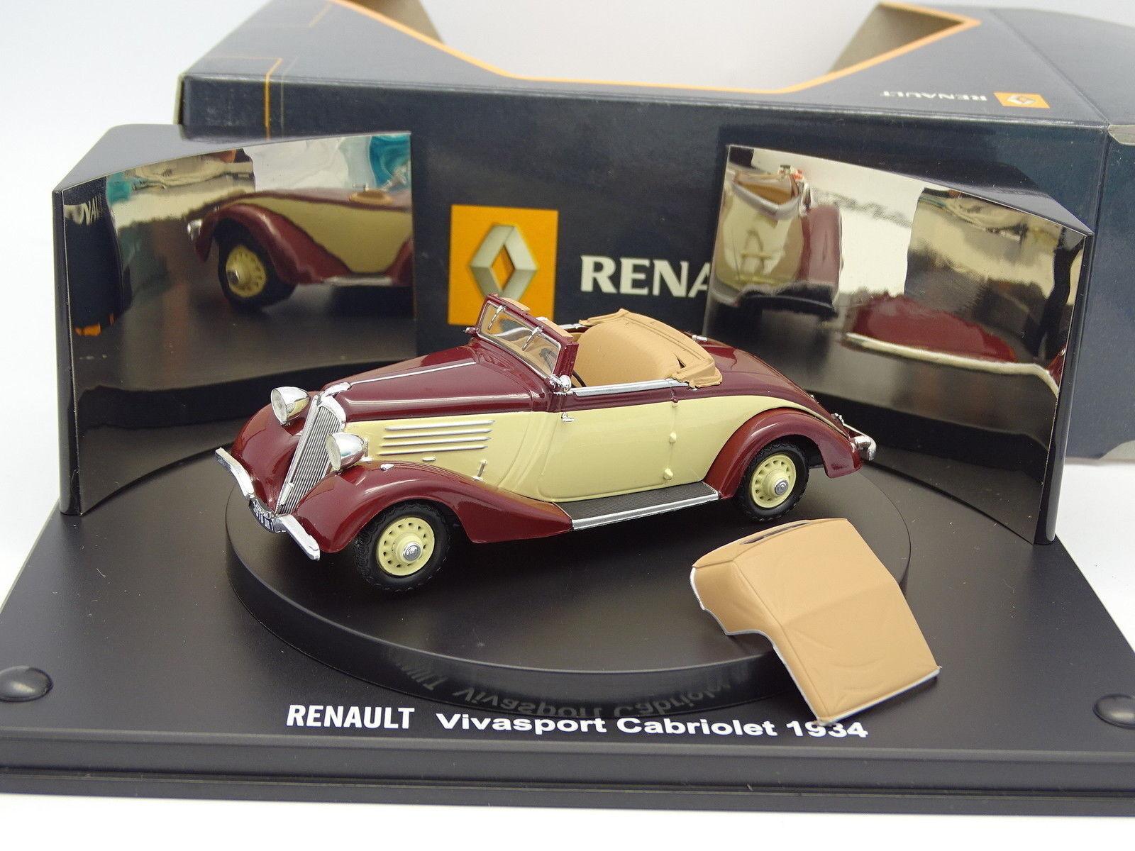 Norev 1 43 - Renault Vivasport Cabriolet 1934