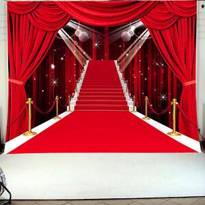 Details About 3x5ft Red Carpet Aisle Wedding Photography Studio Background Vinyl Backdrop