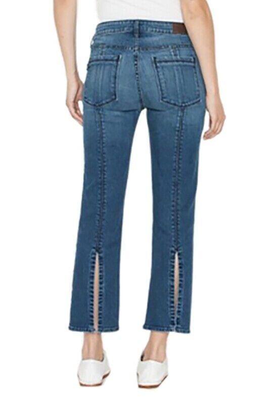 Nouveau Femme Parker Smith Bombshell Court Skinny en Dawn Haute Rise Jeans Sz 27