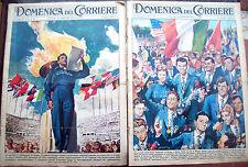 28) 1956 APERTURA E CHIUSURA OLIMPIADI DI ROMA. ADOLFO CONSOLINI DA COSTERMANO