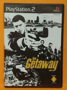 The Getaway  PS2 Playstation 2 COMPLETE Game 1 Owner  Mint Disc