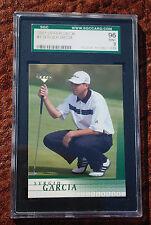 GRADED GOLF PGA CARD 2001 UPPER DECK SERGIO GARCIA 96 MINT 9