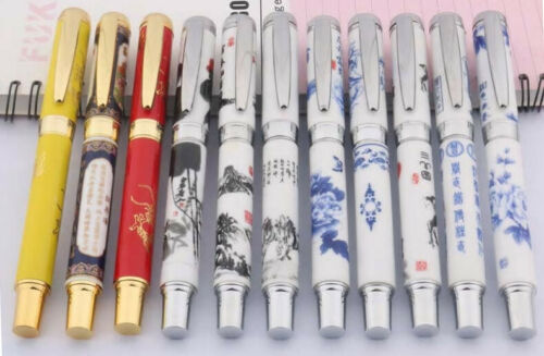 Jinhao 950 Rollerball Pen Ceramic Porcelain Painting Designs Ships from US