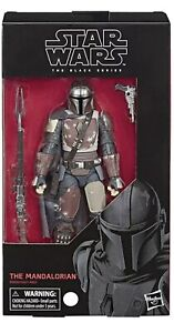 Star Wars The Black Series The Mandalorian Action Figure 6-Inch Scale 6""