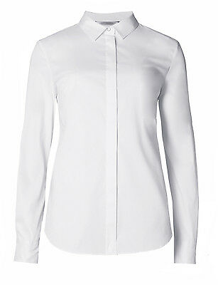 Marks & Spencer Collection White Long Sleeved Shirt